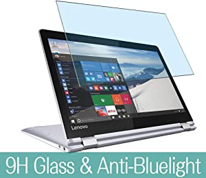 "Synvy Anti Blue Light Tempered Glass Screen Protector for Lenovo Yoga 710 11.6"" Visible Area 9H Protective Screen Film Protectors"