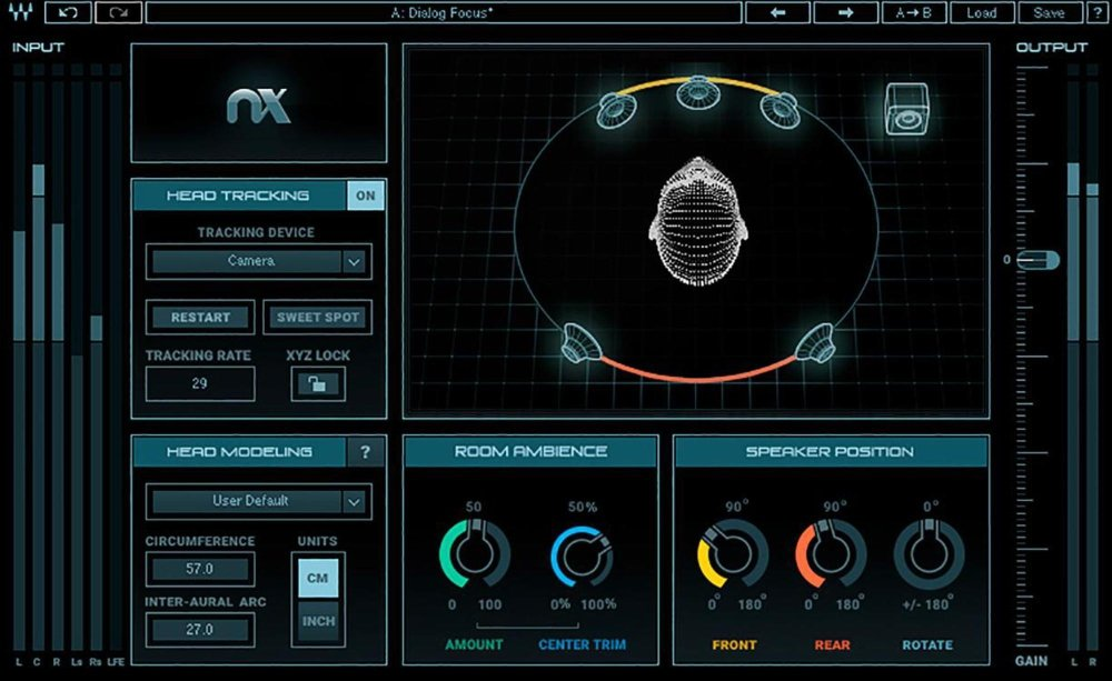 Waves Nx Virtual Mix Room Over Headphones by Waves