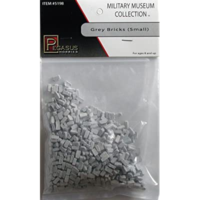 Pegasus Hobby Small Grey Bricks Diorama Accessory: Toys & Games