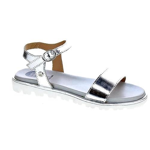 cfe02fdad Gioseppo 43428 - Sandalias Niña Plata Talla 39  Amazon.es  Zapatos y  complementos