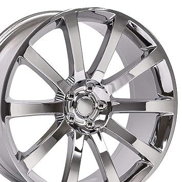 OE Wheels 20 Inch Fits Chrysler 300 Challenger SRT8 Charger SRT8 Magnum 300  SRT Style CL02 Chrome 20x9 Rim Hollander 2253