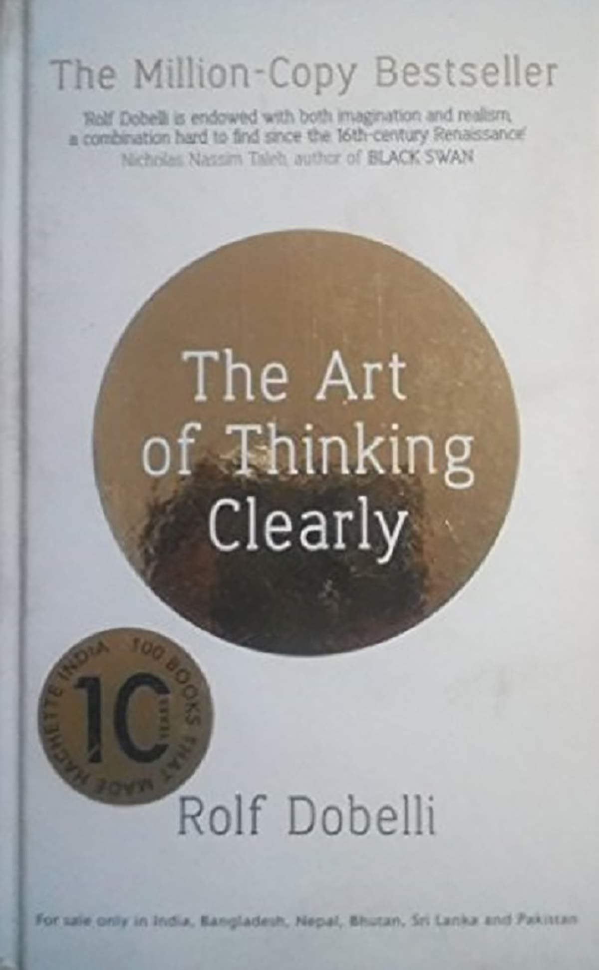 Art Of Thinking Clearly Pdf