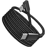 Milue 5 m/5 metros VR Link Cabo USB C Oculus Quest 2 Alta Velocidade Transferência de Dados Cabo de Carregamento Rápido Vr Li