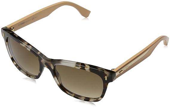 Fendi Damen Sonnenbrille Ff 0086, Beige (Sptthvn Beige/Brown Sf), 50