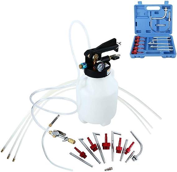 FreeTec Kit de Extracción de Aceite Neumático y Líquido de 6 Litros con 14 ATF Adaptadores: Amazon.es: Coche y moto