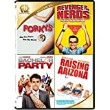 Porky's / Revenge of the Nerds / Bachelor Party / Raising Arizona Quad Feature