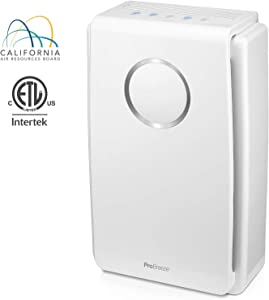 Pro Breeze 5-in-1 Air Purifier with True HEPA Filter, Carbon Filter and Negative Ion Generator