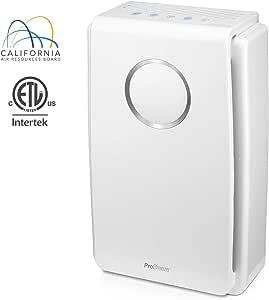 Pro Breeze purificador de aire 5 en 1 con filtro HEPA real, filtro ...