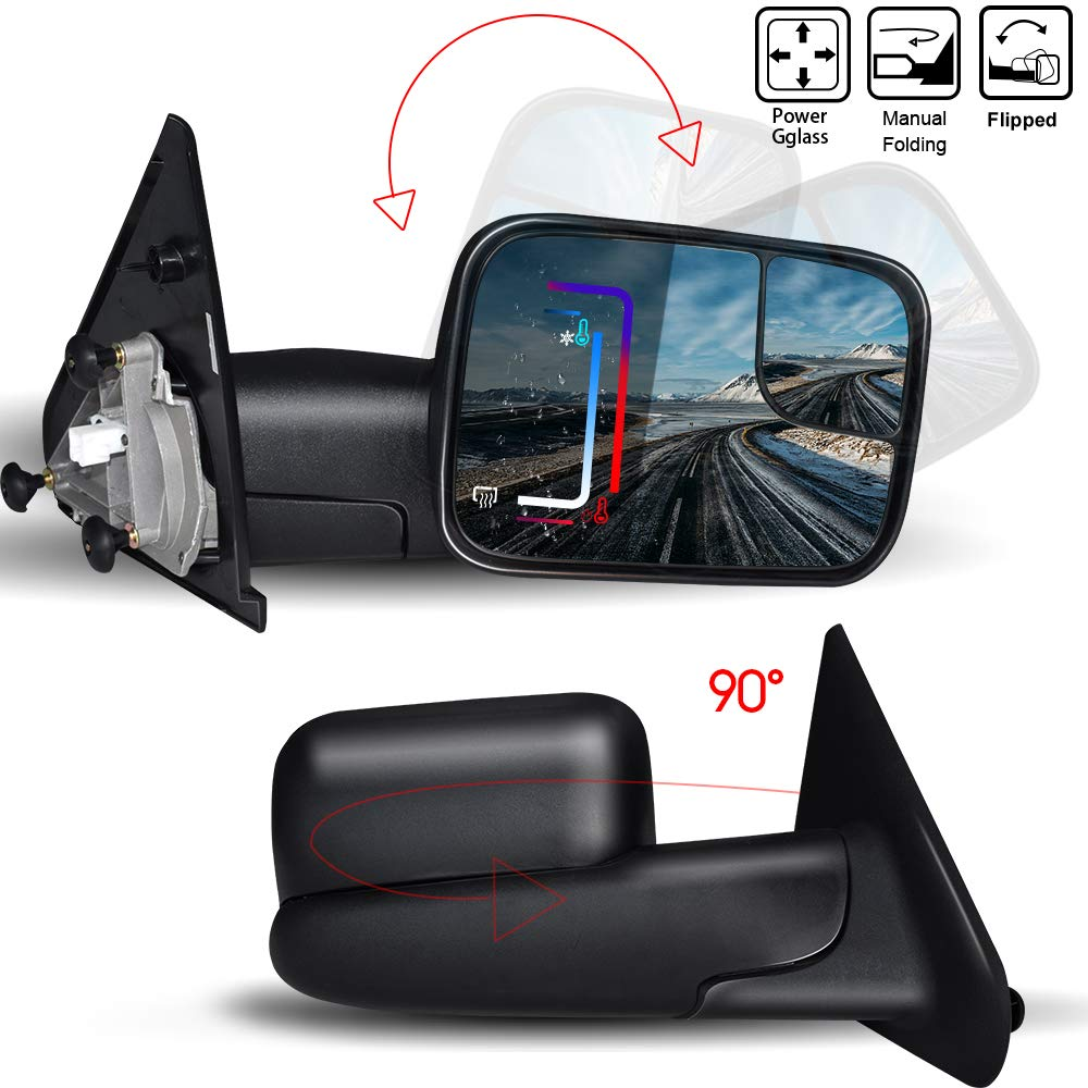 For Nissan 350Z 2002-2009 Right Driver side wing mirror glass electric