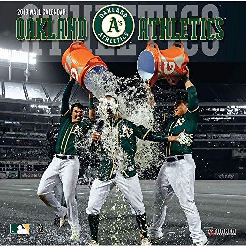 2019 Oakland Athletics Wall Calendar, Oakland Athletics by Turner Licensing