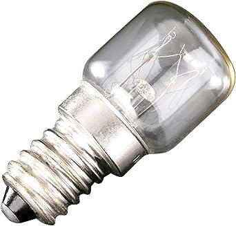 Pinzhi - Bombilla LED para congelador (1 unidad, pigmy LED SES, 2W ...