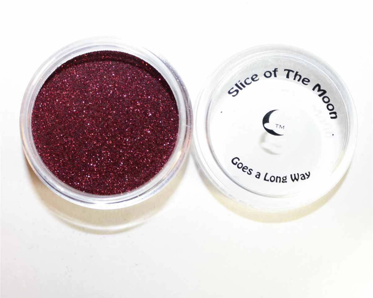 Holographic Wine Red Glitter Powder 15g – Non-solvent Glitter Powder, Slice of the Moon EKS Entertainment Group