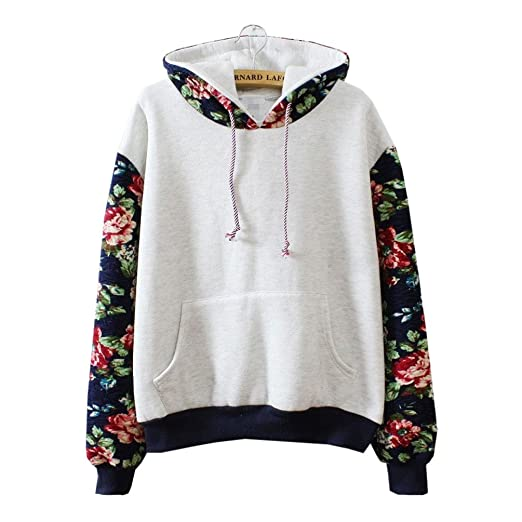 Followme2shop Cute Sweaters Fire Loli Women\u0027s Flowers Sleeve Cute Hoodies  Sweater