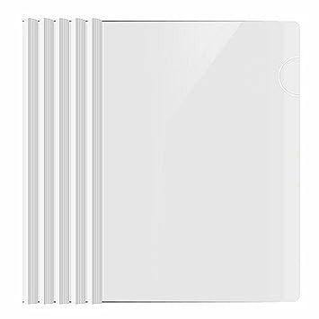 shxstore resume portfolio folder clear presentation folders with white report covers sliding bar for a4