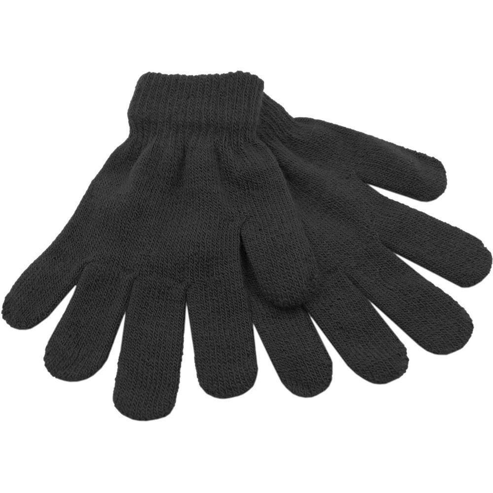 2 Pack Boys Girls Childrens Warm Thermal Stretch Magic Gloves GL105 Assorted Colours