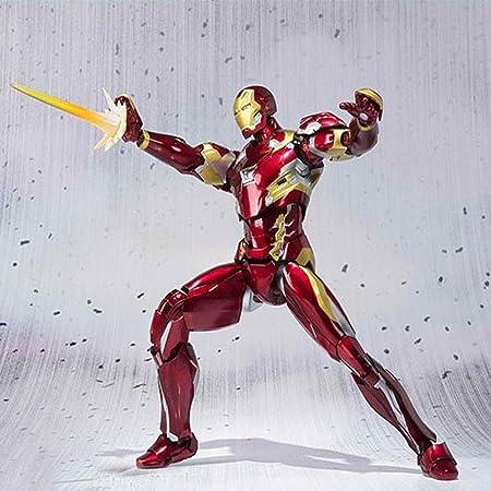 Mk46 Iron Man Modelo SHF Avengers Figura De Acción Alianza ...