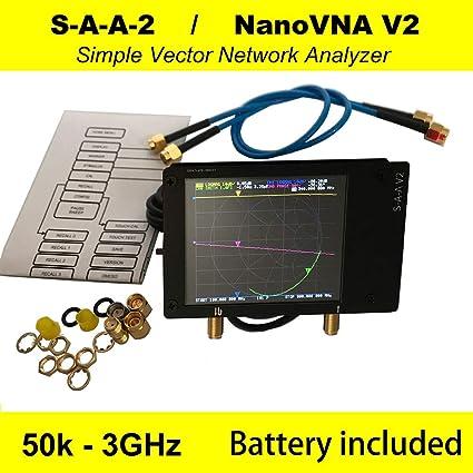 Vector Network Analyzer, 50Khz ~ 3Ghz HF VHF UHF 2,8 Pulgadas ...