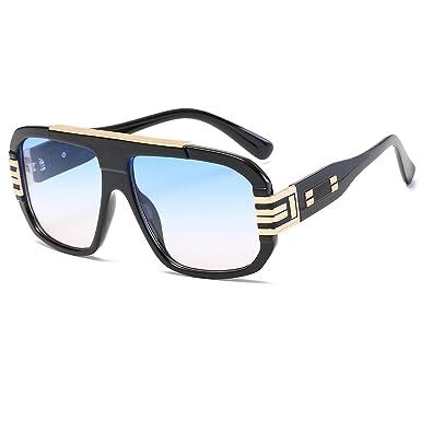 52d14732c5 Brand Designer Sunglasses Men Women Retro Vintage Sun Glasses Big Frame  Fashion Glasses Top Quality Eyeglasses  Amazon.co.uk  Clothing