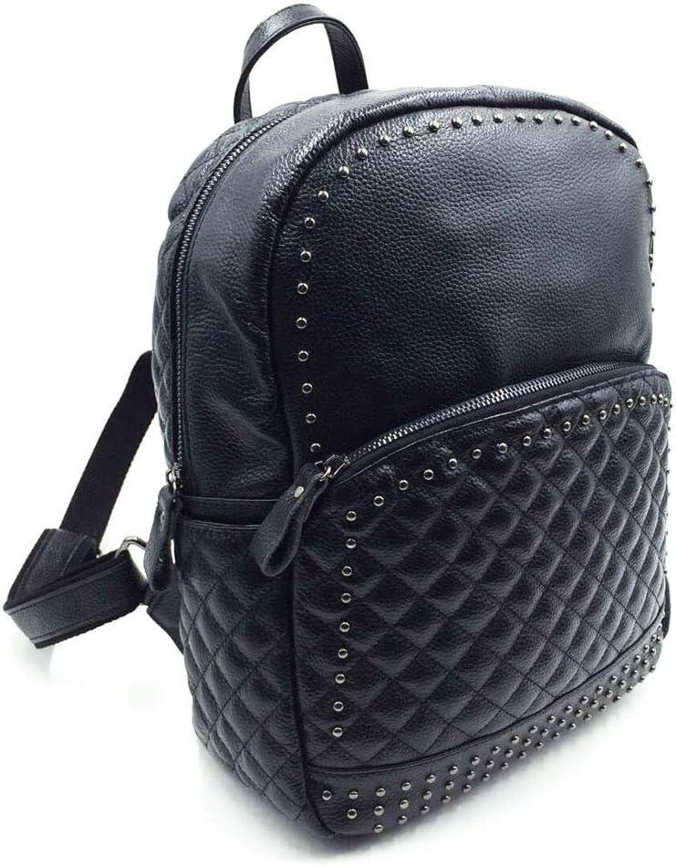 UHUBBG Retro Backpack Retro Small Fragrance Black Lady Travel Backpack Bag 24X31X12Cm
