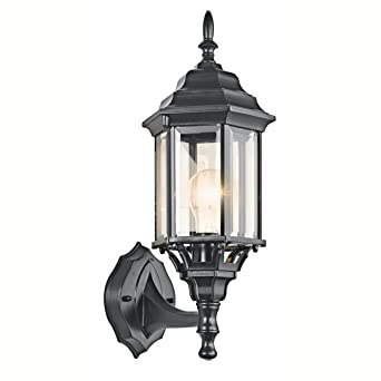 Kichler Lighting 49255BK Chesapeake Outdoor Sconce  BlackKichler Lighting 49255BK Chesapeake Outdoor Sconce  Black   Wall  . Kichler Lighting Outdoor Sconce. Home Design Ideas