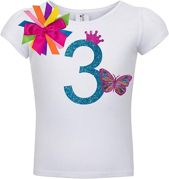 Bubblegum Divas Little Girls 6th Birthday Pink Zebra Print Animal Shirt
