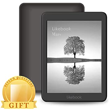 Mica House Likebook Mars E-Reader, Pantalla táctil de 7.8