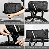Bike Rear Bag Raincoat Bags Mountain Shelf Large Capacity Sport Backpacks Outdoor Camping Carrying Luggage Rack Waterproof Portable Bicycle Seat Trunk Backpack Case Pannier MTB Road Cycling