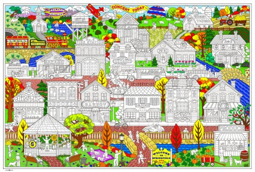(Stuff2Color Your Town - Giant Sized Poster - 32