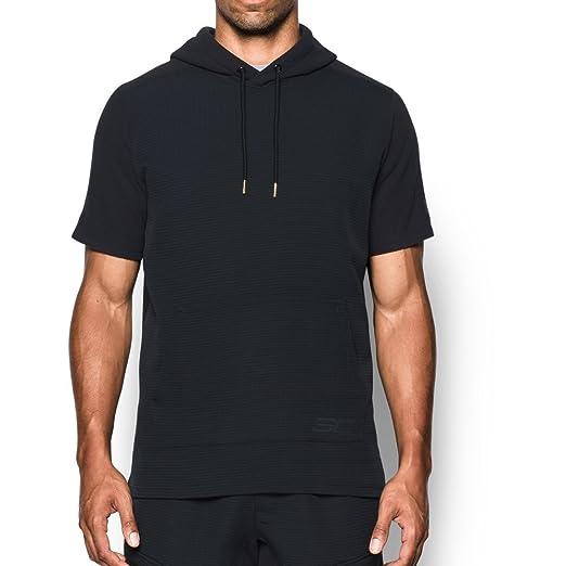 6e82e68a5 Amazon.com: Under Armor Men's SC30 Curry Life Short Sleeve Hoodie: Clothing