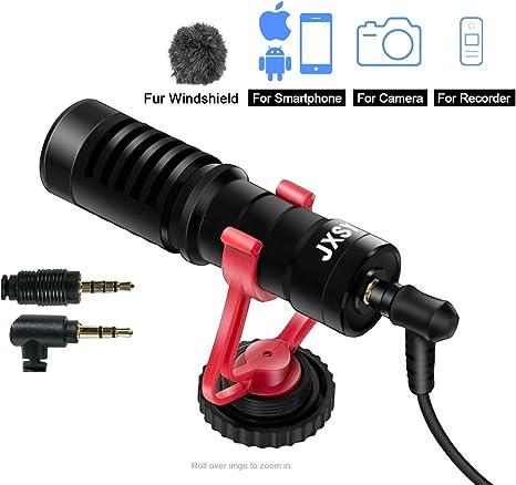 Mini micrófono de Video livestream Micrófono con cancelación de ...