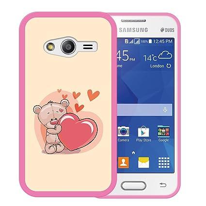 3de132557f1 WoowCase Funda Samsung Galaxy Ace NXT, [Samsung Galaxy Ace NXT ] Funda  Silicona Gel