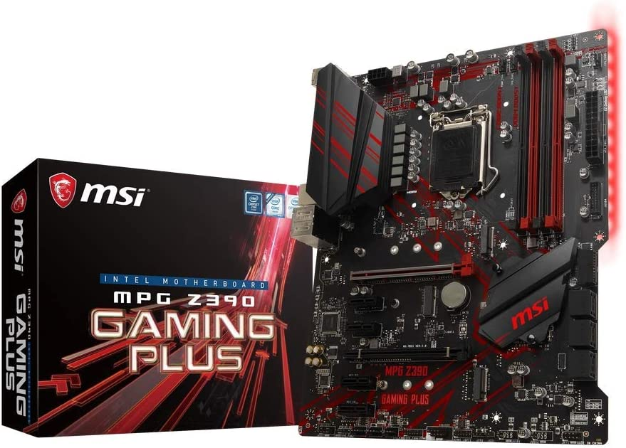 MSI MPG Intel Z390 Gaming Plus ATX DDR4-SDRAM Motherboard