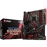 MSI MPG Z390 GAMING PLUS - Placa base Performance (LGA 1151, 2 x PCI-E 3.0 x16, Audio Boost, 2 x USB 3.1 Gen2, Twin Turbo M.2, PCI-E Steel Armor)