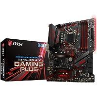 msi MPG Z390 Gaming Plus ATX Motherboard-S1151 9Gen 4xDDR4 2xPCI-E DVI-D/HDMI 2xM.2 6xSATA RAID SLI/CF 4xUSB3.1 RGB