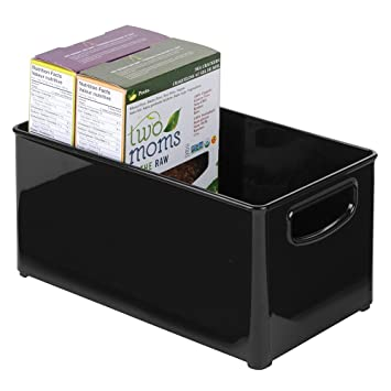 mDesign Küchenablage – praktische Aufbewahrungsbox in der Küche ...