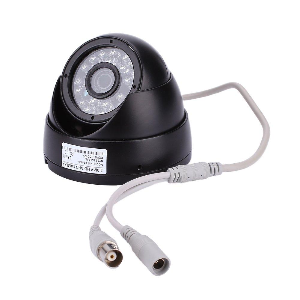 Giantree 2.0MP 1080P同軸金属シェルセキュリティナイトビジョンAHDホーム監視HD CCTVカメラ B076M83N8S