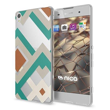 NALIA Handyhülle kompatibel mit Sony Xperia XA, Slim Silikon Motiv Case Phone Cover Crystal Schutzhülle Dünn Durchsichtig, Et