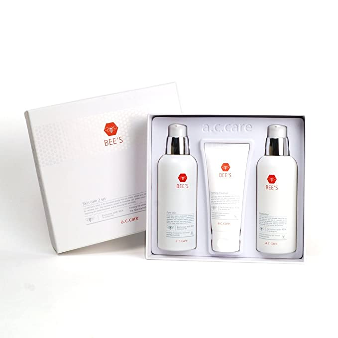 A.C. Care Bee's Skin Care 3-Piece Set