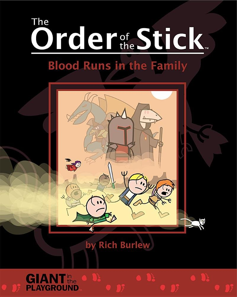 Read Online Order of the Stick 5 - Blood Runs in the Family pdf