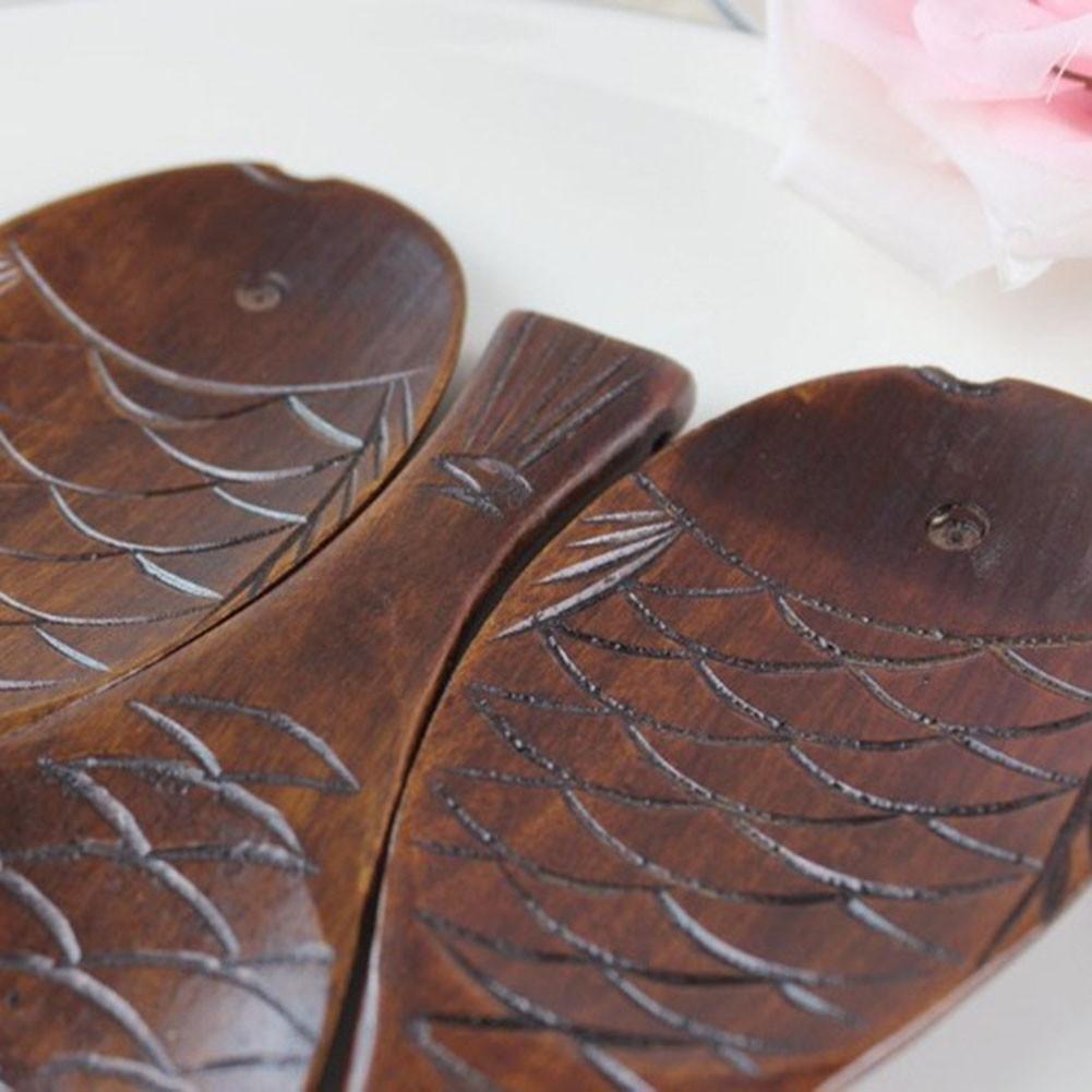 Cuchara de cocina artesanal de madera con forma de pez tallada a mano para arroz, cocina, regalo: Amazon.es: Bricolaje y herramientas