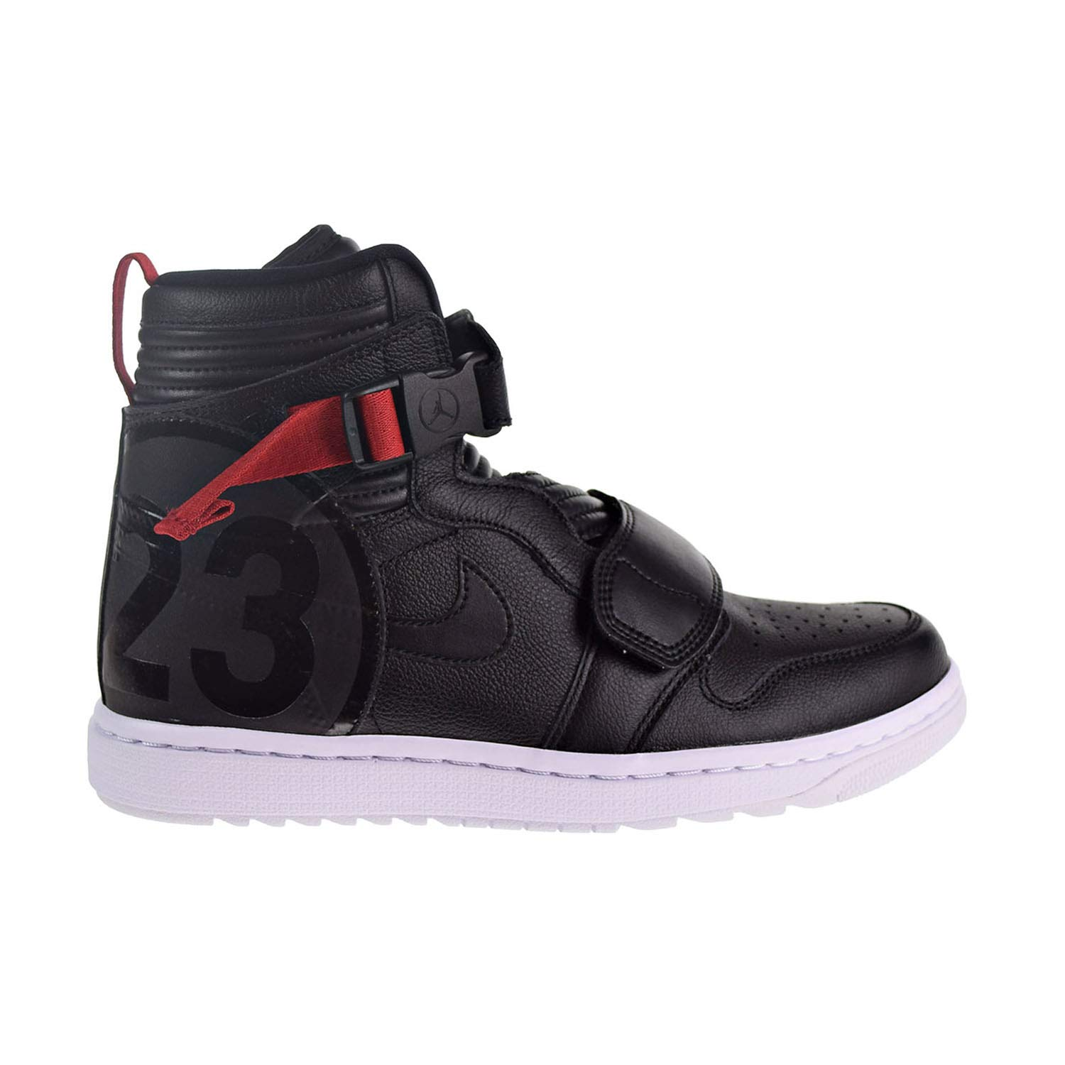 best service 63775 f80ef Amazon.com   Nike Air Jordan 1 Moto Men s Shoes Black Gym Red at3146-001    Fashion Sneakers