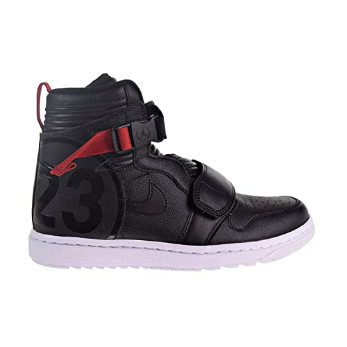 newest collection a00c1 71167 Nike Air Jordan 1 Moto Men's Shoes Black/Gym Red at3146-001