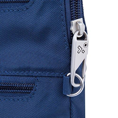 Travelon Anti-Theft Classic Slim Dbl Zip Crossbody Bag, Midnight by Travelon (Image #5)