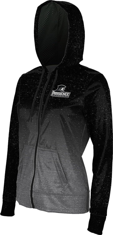 Ombre Providence College Womens Zipper Hoodie School Spirit Sweatshirt