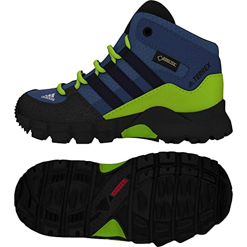size 40 62bfd e4737 adidas Terrex Mid GTX, Scarpe da Ginnastica Basse Unisex-Bimbi, Blu  (Traroy Conavy Sslime 000), 22 EU  Amazon.it  Sport e tempo libero