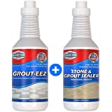Grout Cleaner & Sealer Bundle. Clean Your Tile & Grout With This 2 in 1 Cleaner. Then Seal Your Grout To Make Sure It…
