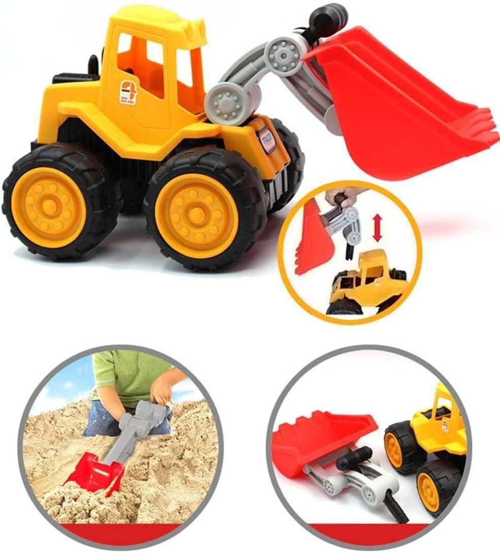 Coolle Veh/ículos de construcci/ón de Juguete Tough Tracks Heavy Engineering Car Great For Outdoor Play Ages 3+ Excavadora