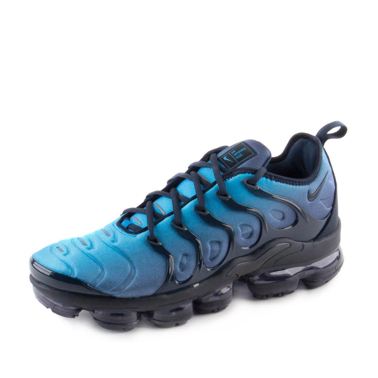 01d4ece84e5 Galleon - Nike Mens Air Vapormax Plus Obsidian Photo Blue Neoprene Size 8