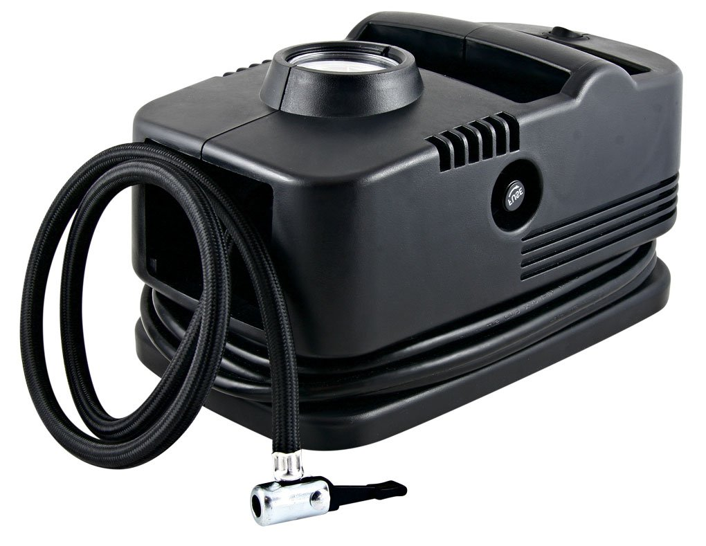 Superflow Portable Air Pump 120 volt, Tire Inflator, HV-41 Air Compressor for Cars, ATVs, Bikes, Strollers, Balls and Inflatables
