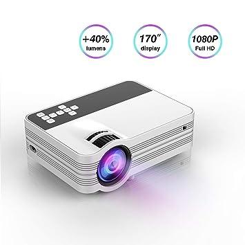 Proyector, proyector de vídeo LED, tecnología LCD actualizada ...